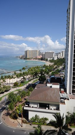 Aston Waikiki Beach Hotel: View from our bedroom