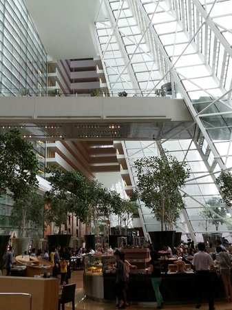 Marina Bay Sands: Hotels lobby