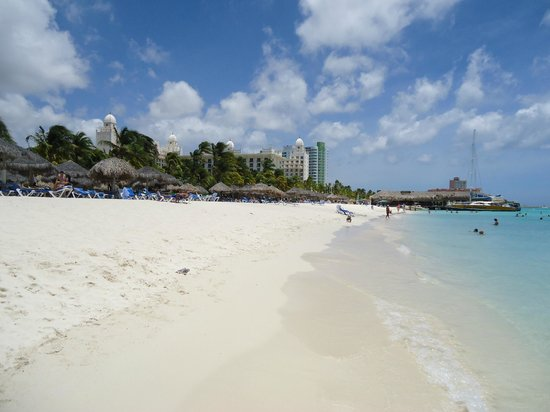 Radisson Aruba Resort, Casino & Spa: Playa