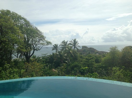 Calibishie, Dominica: View from the Villa