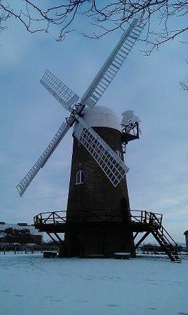 Wiltshire, UK: Wilton Windmill in the snow (courtesy of Fiona Nesbitt)