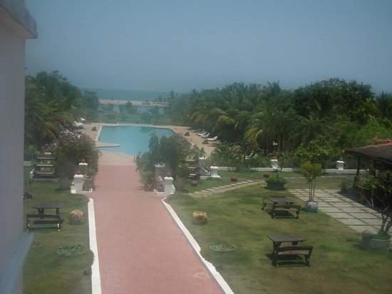 Chariot Beach Resort: Room with a view