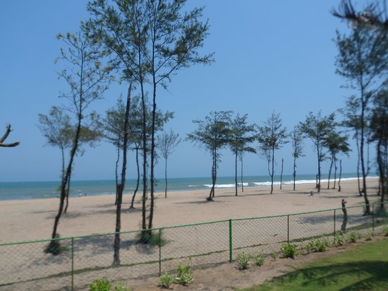 Chariot Beach Resort: Beach