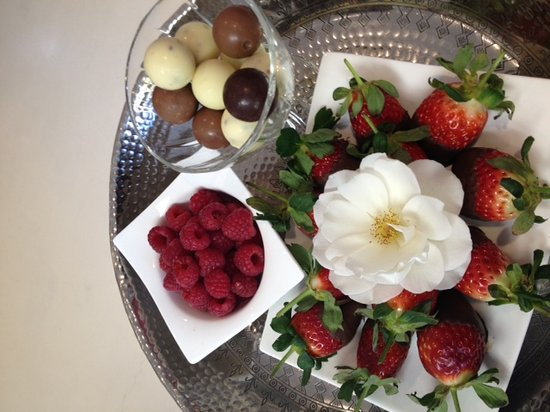 Durbanville, South Africa: Platter for honeymooners
