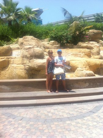 Atlantis, The Palm: entrance to watter park