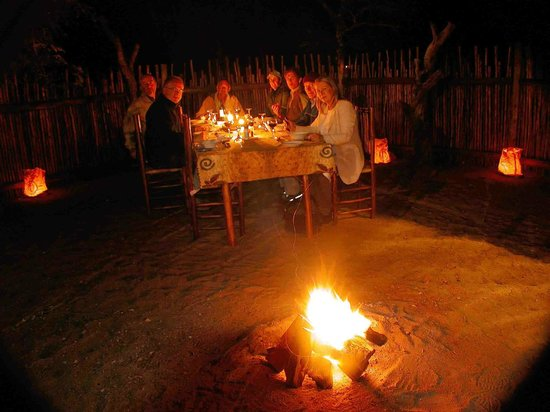 Marloth Park, Güney Afrika: Boma Dinner