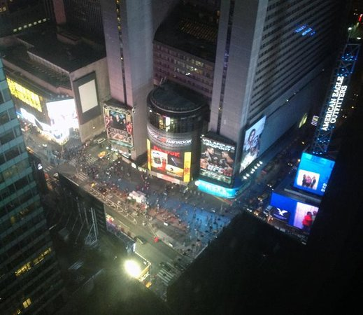DoubleTree Suites by Hilton Hotel New York City - Times Square: Times Square from 39th floor