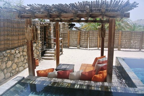 Six Senses Zighy Bay: Outdoor area
