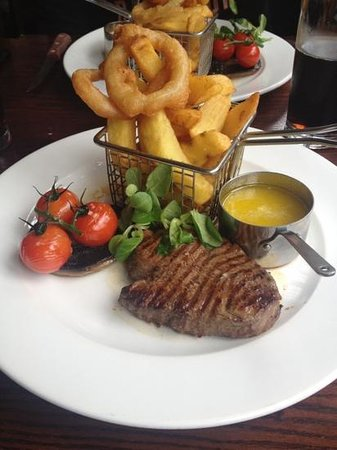 Burton upon Trent, UK: fillet steak