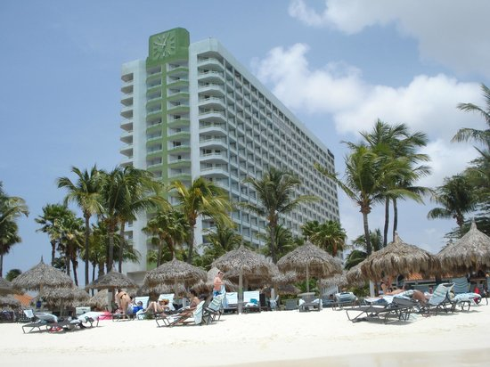 The Westin Resort & Casino, Aruba: Westin from the beach