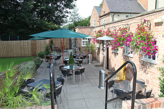 Loughborough, UK: Al Fresco dining