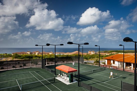 Santa Barbara Beach & Golf Resort, Curacao: Tennis Center with Tennis Pro