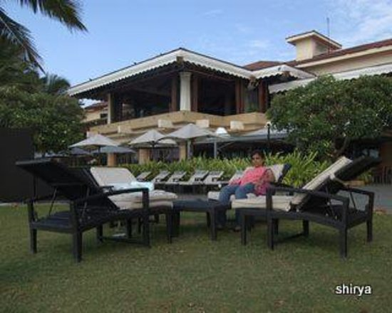 Goa Marriott Resort & Spa: Marriot from Miramar beach
