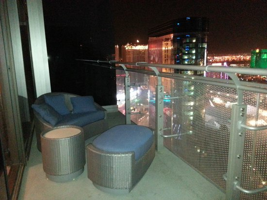 The Cosmopolitan of Las Vegas: the terrace