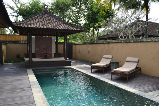 The Chedi Club Tanah Gajah a GHM Hotel: Villa 11 pool area