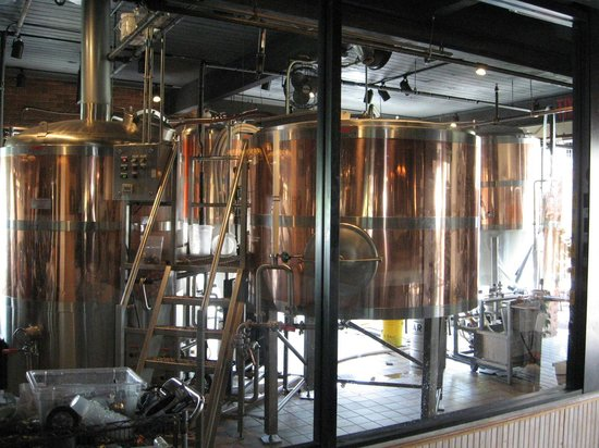 East Lansing, MI: Another view of Beer Tanks