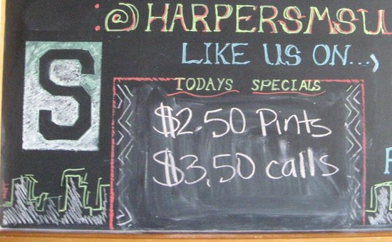 East Lansing, MI: Good beer prices