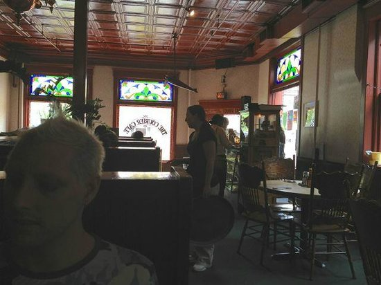 Urbana, IL: Interior of the main dining area