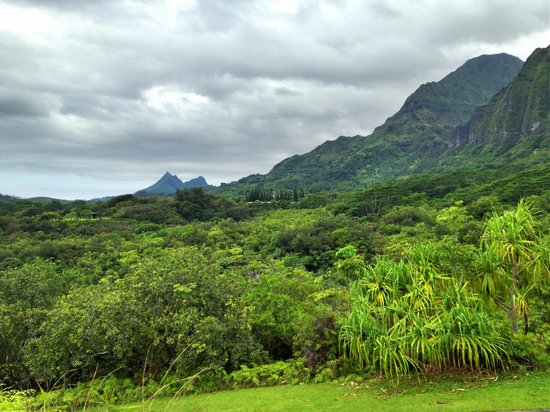 Kaneohe, HI: view from overlook