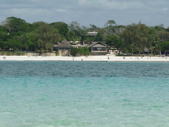 The Baobab - Baobab Beach Resort & Spa: view from the reef