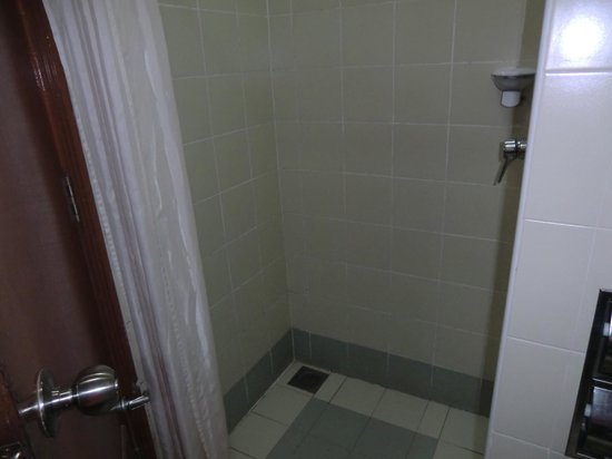 First World Hotel: shower area