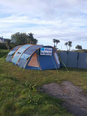 Cahersiveen, Ireland: The Tent at Mannix Point