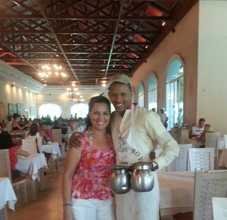 Majestic Colonial Punta Cana: The best Coffee Boy
