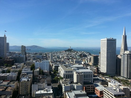St. Regis Hotel, San Francisco: View of San Fran