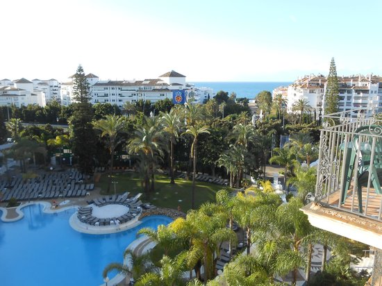 H10 Andalucia Plaza: View from our room