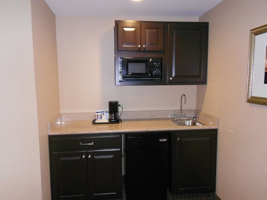 Holiday Inn Express Hotel & Suites Mt Pleasant-Charleston: Small wet bar area