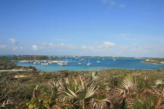 St Francis Resort: Blick von Stocking Island nach Great Exuma