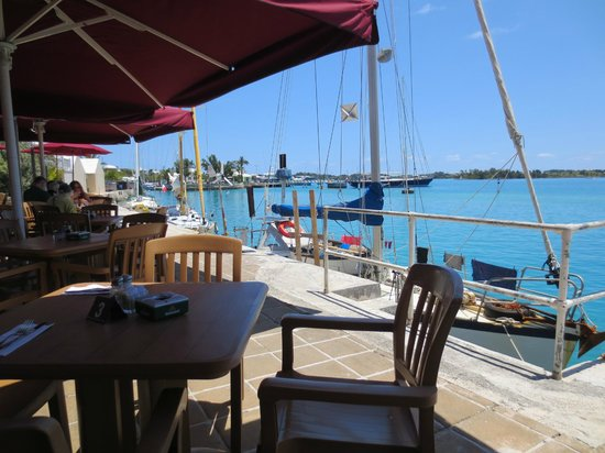 St. George, Bermuda: Tavern by the Sea ....View