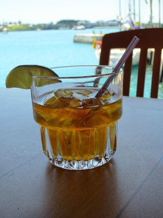 "St. George, Bermuda: Tavern by the Sea ""Dark & Stormy"""
