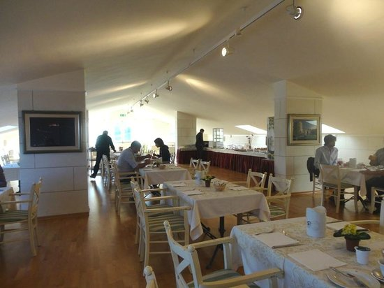 Melfi, Italy: Breakfast Hall