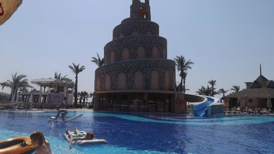Bodrum Imperial: The great pool and slide