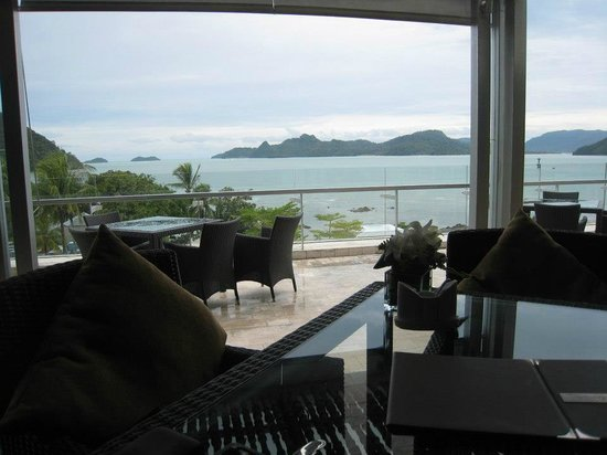 The Westin Langkawi Resort & Spa: Great View and Nice Food from this hotel cafe