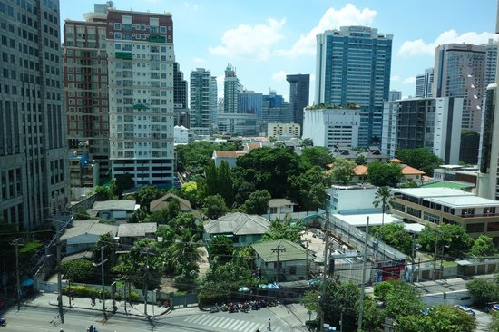 Park Plaza Sukhumvit Bangkok: View from our room
