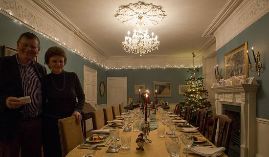 Beverley, UK: Dining Room at Christmas