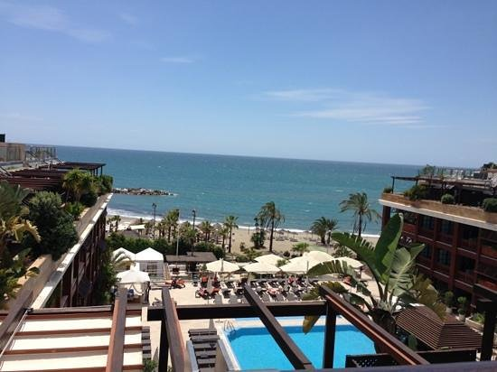 Gran Hotel Guadalpin Banus: view from the top
