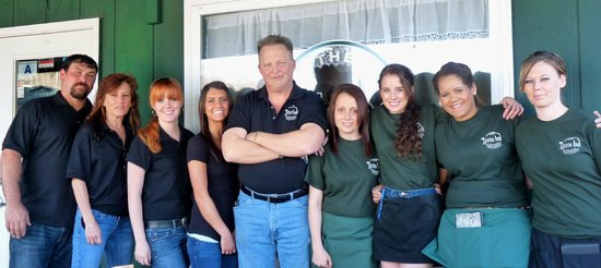 Landrum, SC: Staff with Chef Michael