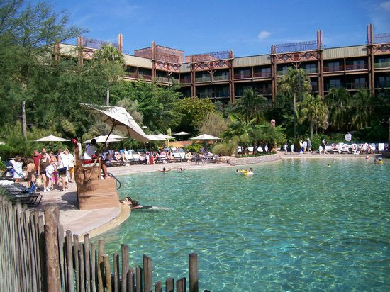 Disney's Animal Kingdom Lodge: Animal Kingdom pool area