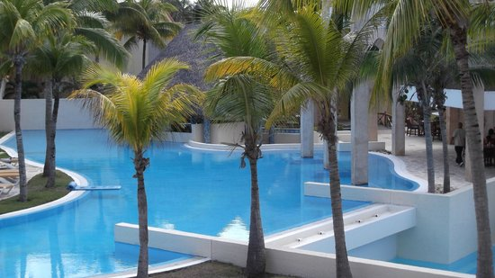 Melia Las Americas : View from 6302, swim up bar