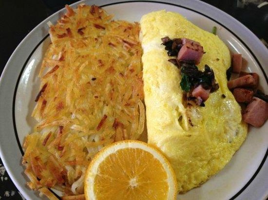 Vallejo, CA: Omelette with hashbrown