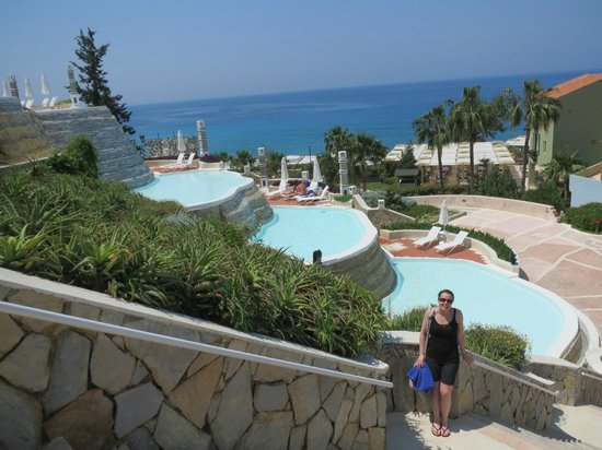Lykia World Oludeniz: Pools near to restaurant