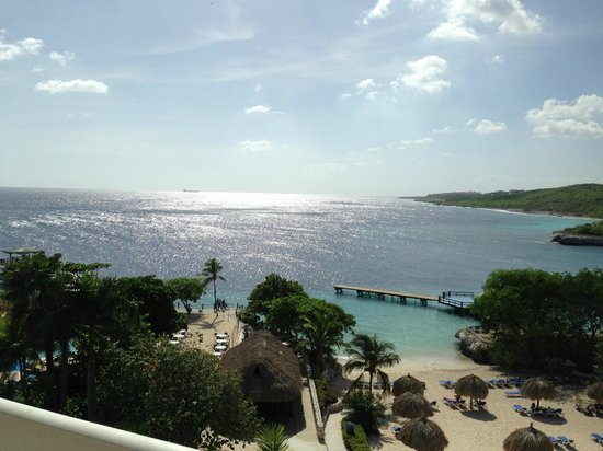 Hilton Curacao: view from our 4th floor room