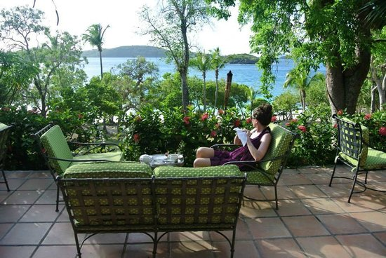 Caneel Bay, A Rosewood Resort: Daily Tea Service at Turtle Bay Estate House