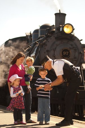 Families love the Essex Steam Train
