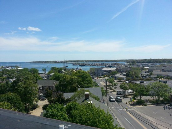 Vineyard Haven, MA : This is just one view from the cupola.