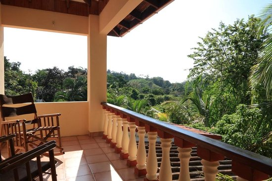 Hotel Las Tres Banderas: Department Balcony