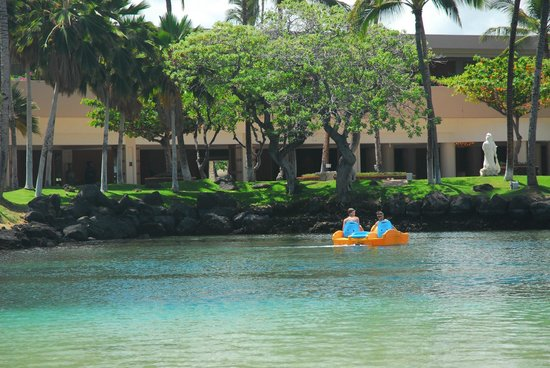 Hilton Waikoloa Village: The Lagoon swimming area